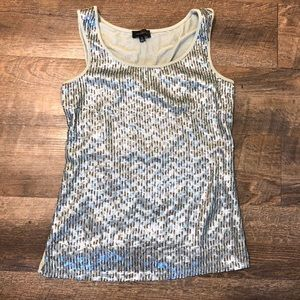 The Limited Women's Sleeveless Sequin Tank Top